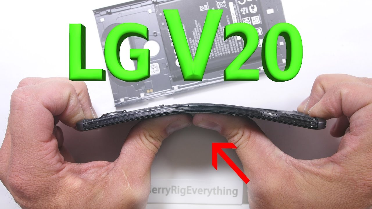 LG V20 owners report fragile, easily cracked camera glass