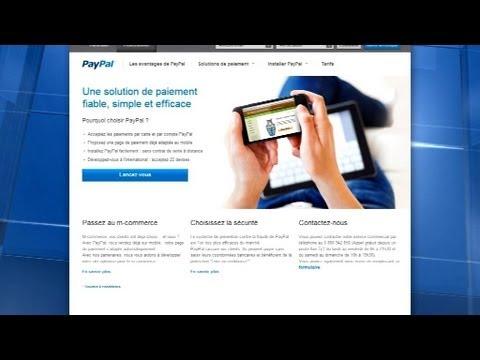 le service de paiement en ligne paypal est consid r comme un compte l 39 tranger 07 10 youtube. Black Bedroom Furniture Sets. Home Design Ideas
