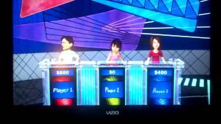 Jeopardy Wii U Game 1 Part 1