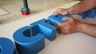 Изготовление объемных букв и стендов