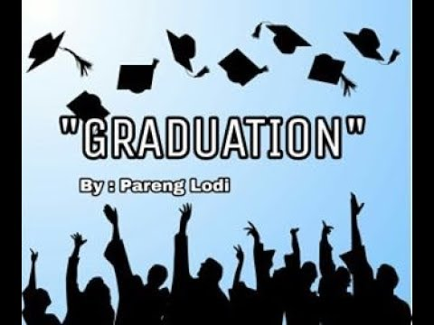"""Graduation""Spoken Poetry ( Kiss The Rain - Yiruma )"