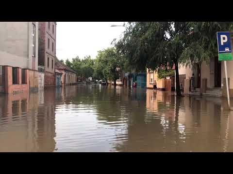 Poplave nakon oluje Zrenjanin