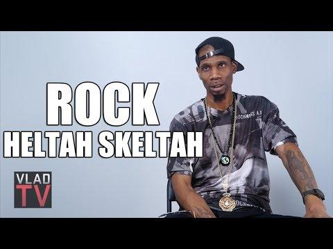 Rock (Heltah Skeltah) on How He Got Face Scar, Forming Boot Camp Clik (Part 2)