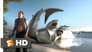 3 Headed Shark Attack (9/10) Movie CLIP - Never Seen Anything Like That (2015) HD