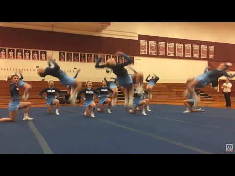 Mona Shores' competitive cheer wins Muskegon jamboree, aims for best-ever state finish