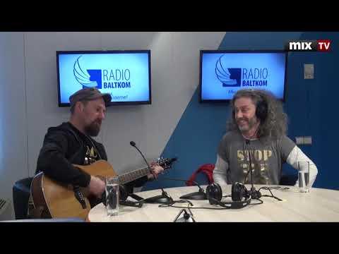 """Музыканты группы """"RIGA Reggae"""" в программе """"Утро на Балткоме"""" #MIXTV"""