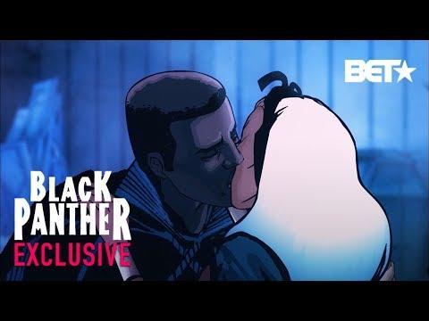Black Panther, Ep. 6  See Djimon Hounsou T'Challa Save Wakanda, Kiss Storm