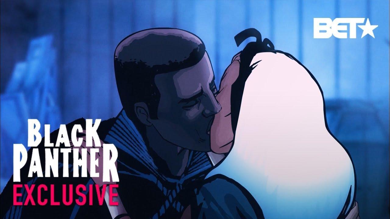 Black Panther, Ep. 6 – See Djimon Hounsou (T'Challa) Save Wakanda, Kiss Storm