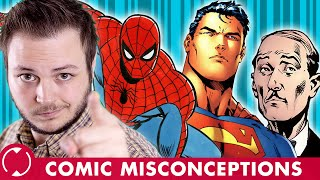 Fat Alfred and Time-Traveling Superman! | COMMENT Misconceptions