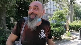 FIRENZE. Luca il barbone torna in Piazza d'Azeglio