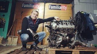 Первый холодный пуск и новые проблемы Убитый Porsche Turbo S Монстр 13