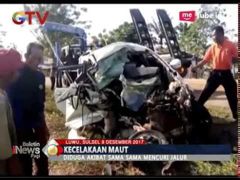 Kecelakaan Maut, 5 Orang Tewas Saat Kedua Kendaraan Saling Mencuri Jalur - BIP 09/12