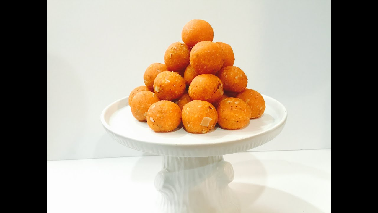 Motichoor ladoo recipe simple homemade ladoos indian sweet in motichoor ladoo recipe simple homemade ladoos indian sweet in english youtube forumfinder