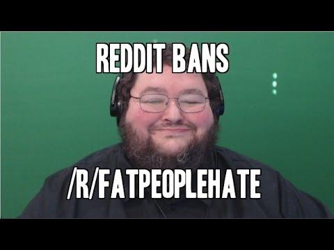 REDDIT BANS FATPEOPLEHATE