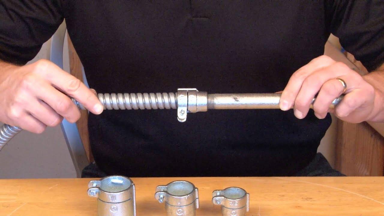 3 4 Quot Rigid To 3 4 Quot Flexible Metal Conduit Combination