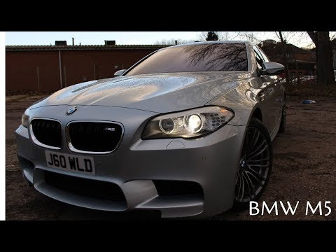 BMW M5 review - twin turbo V8