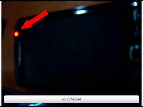 BlackBerry Torch 9860 no JVM load