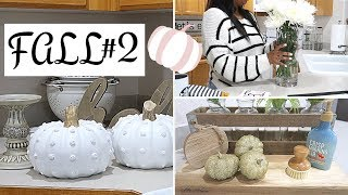 FALL CLEAN AND DECORATE WITH ME 2019 | FALL HOME TOUR | FALL DECOR IDEAS | CRISSY MARIE | PART 2