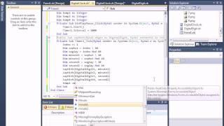 Hướng dẫn User Control làm đồng hồ điện tử Visual Basic
