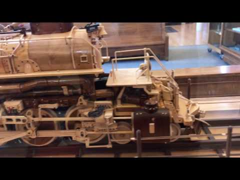Union Pacific Big Boy model - Cheyenne Wyoming