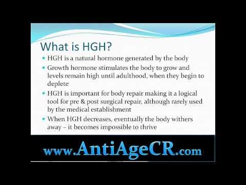 HGH Video Anti Aging Clinic in Costa Rica (Escazu) 500 Meters South of Multiplaza Mall