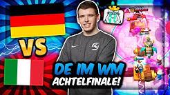 GRÖßTER SKANDAL der WM-GESCHICHTE! | Deutschland vs. Italien - Achtelfinale! | Clash Royale Deutsch