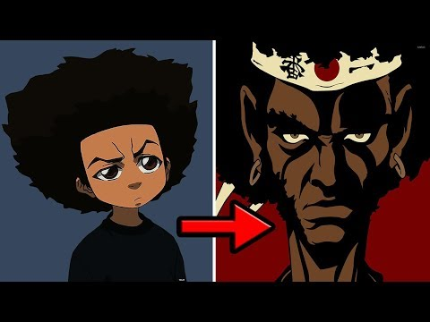 Is Huey A Descendent Of Afro Samurai Youtube