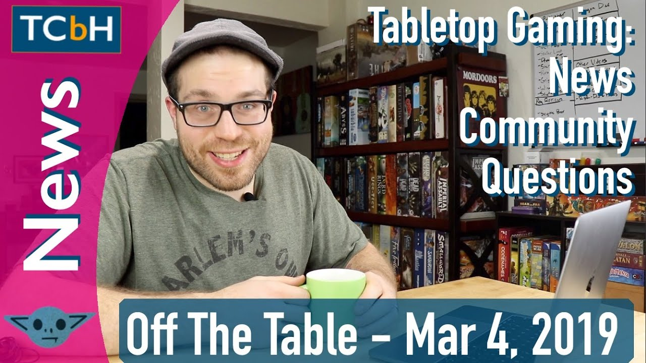 TCbH's Off The Table - Mar 4, 2019 - Pandemic Rapid Response leak confirmed with Z-man Games image