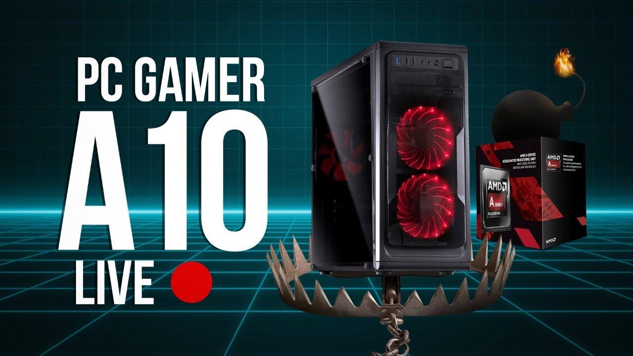 Ainda Vale a Pena um PC Gamer com A10? Testamos a antiga APU 7850K