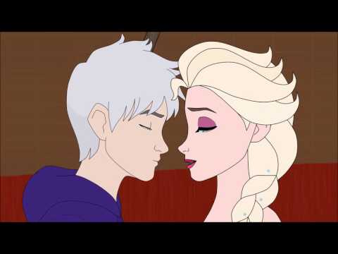 Jelsa Animation - Idina Menzel The Christmas Song (Jack Frost Nipping at Your Nose)