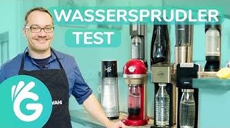 Wassersprudler Test – SodaStream und Co. im Vergleich