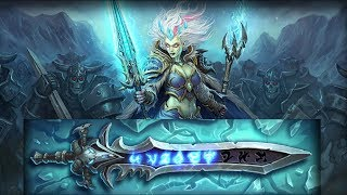 Hearthstone Adventure: Icecrown - Lich King Defeat with Mage (Deck List, cheap)