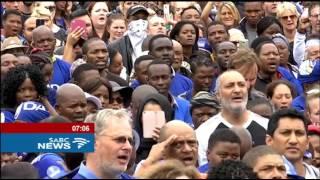 DA led the anti-Zuma march