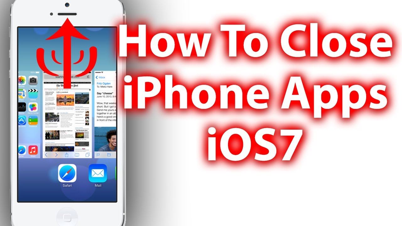 iphone close all apps how to apps in ios 7 iphone ipod touch 3407