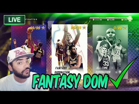 FINISHING FANTASY DOMINATION! NBA 2K19 MYTEAM ROAD TO GALAXY OPAL GIANNIS CONTINUES