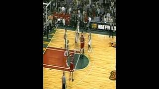 Chicago Bulls vs Seattle Supersonics. June-12-1996 Game 4