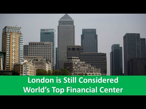 Learn English with VOA News - London is Still Considered World's Top Financial Center