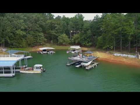 Lake Lanier Waterfront Lot For Sale 9055 Hayes Drive, Gainesville, GA.