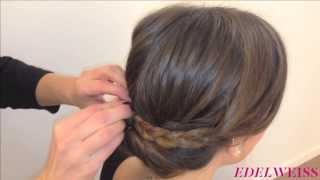 Tutoriel: coiffure rétro-chic en quelques minutes