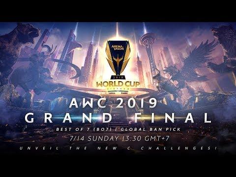 AWC 2019 Grand Final  - Garena AOV (Arena Of Valor)