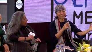 Anjulika Samom, Anungla Longkumer, and Dolly Kikon at Kolkata Literary Meet 2019