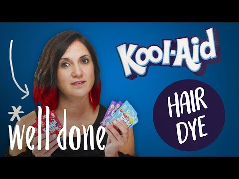 Mom Makes Kool-Aid Hair Dye and Lets Her Girls Try it Out | Mom Vs. | Well Done