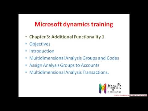 Microsoft dynamics training Dubai
