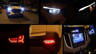 Modified Hyundai Creta | Projector Headlamps | Led Tail Lamps | Infinity Subwoofer | Focal Component