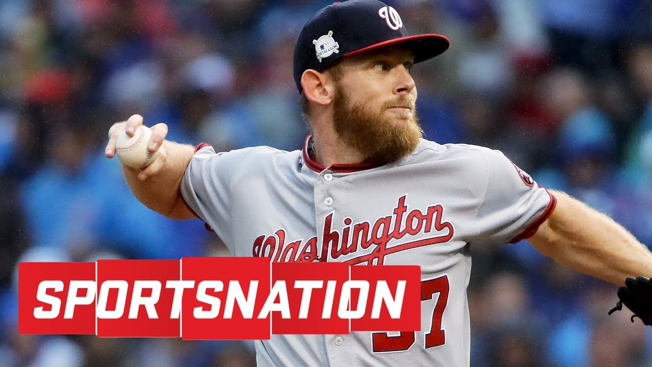 Marcellus Wiley says media owes Stephen Strasburg an apology | SportsNation | ESPN