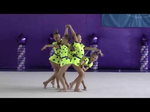 Групповые упражнения 20 ФСТУкраїна Художественная гимнастика