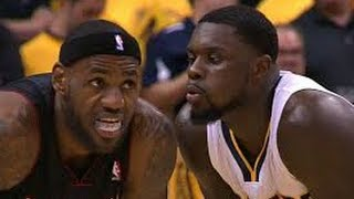 Lance Stephenson Blows In LeBron James Ear During Game 5