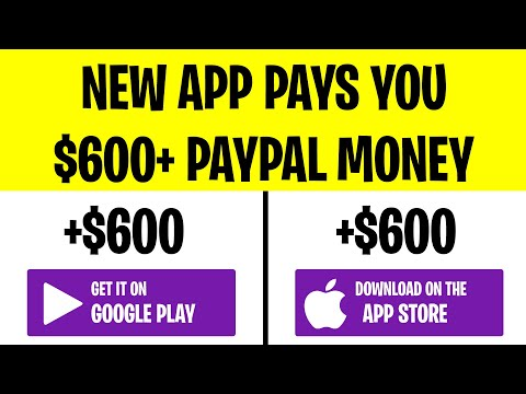 NEW APP Pays YOU PayPal Money ($600+) | Make Money Online