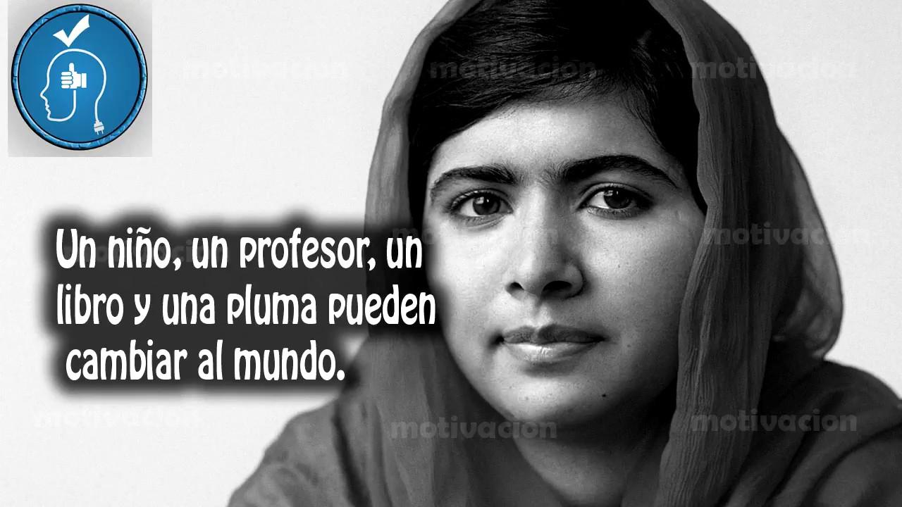 10 Frases Celebres De Malala Yousafzai