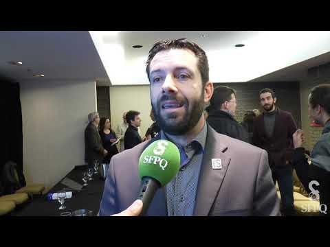 SFPQ express- Conférence de presse Coalition pour que le Québec ait meilleure mine